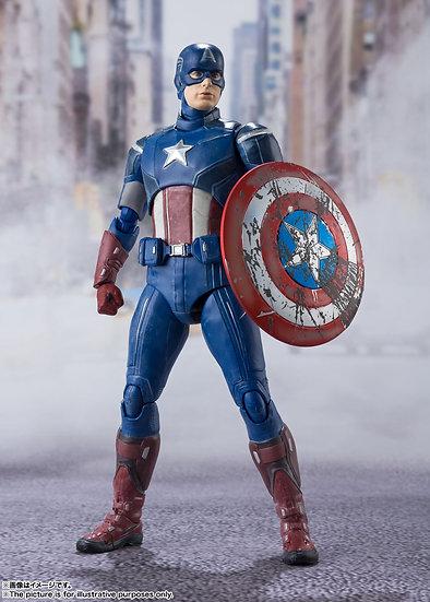 Capitan America Avengers Assemble Edition Bandai SH Figuarts