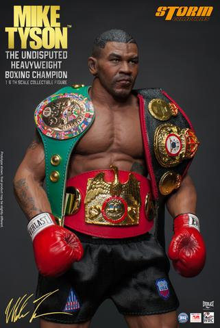 MIKE TYSON THE UNDISPUTED HEAVYWEIGHT BOXING CHAMPION 1:6 STORM COLLECTIBLES