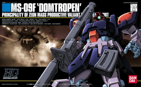 "#17 MS-09F Dom Tropen ""Gundam 0083"", Bandai HGUC"