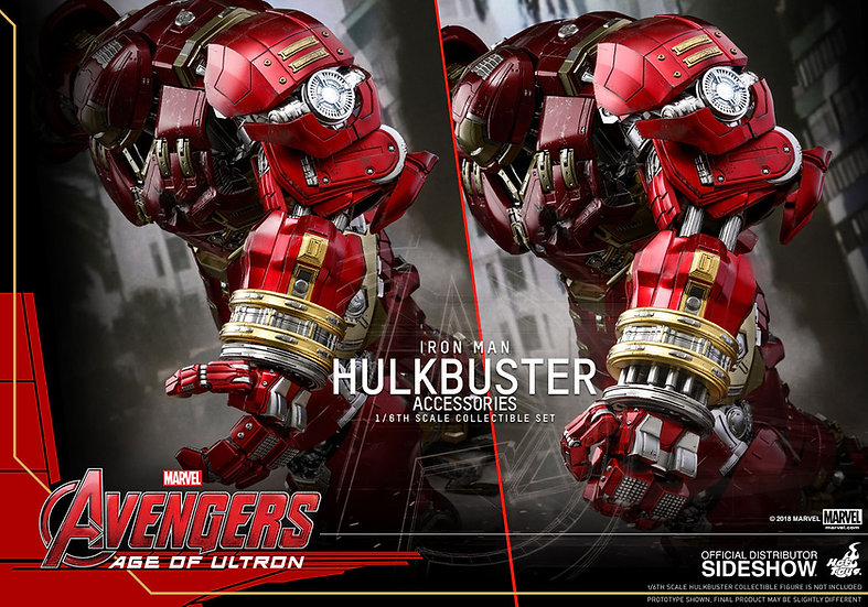 Hulkbuster Accessories 1/6 Hot Toys Avengers: Age of Ultron