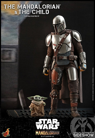 The Mandalorian and The Child BY HOT TOYS