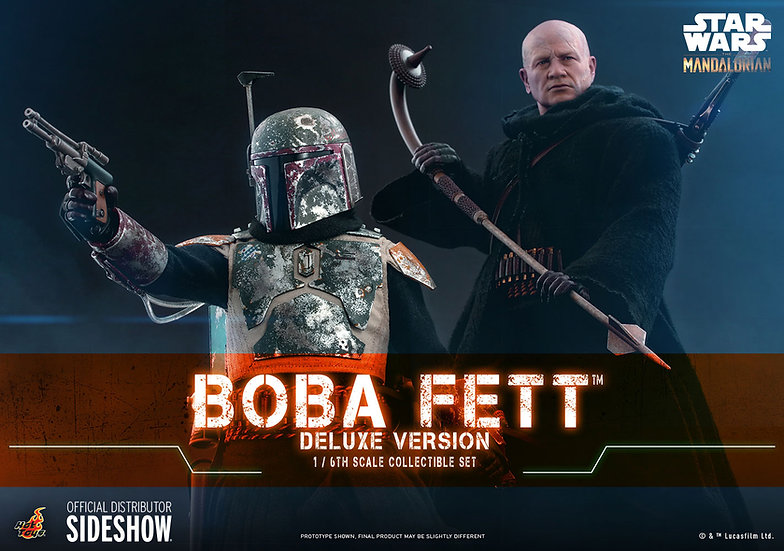 Boba Fett™ (Deluxe Version) Star Wars: The Mandalorian™ by Hot Toys