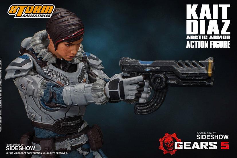 Kalt Diaz Gears of War Storm Collectibles 1/12