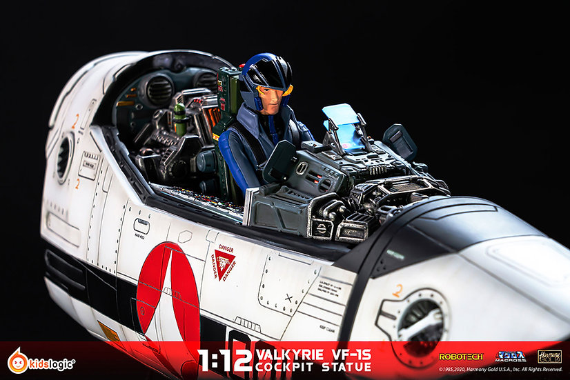 Valkyrie VF-1S Cockpit Statue by Kids Logic Company Limited Macross Pre Orden