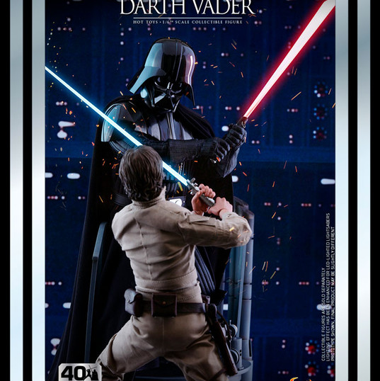 Darth Vader Star Wars: The Empire Strikes Back 40th Anniversary by Hot Toys