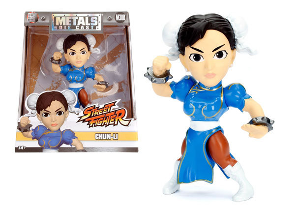 Chun Li Street Fighter Jada Toys 13 cm , 100% metal