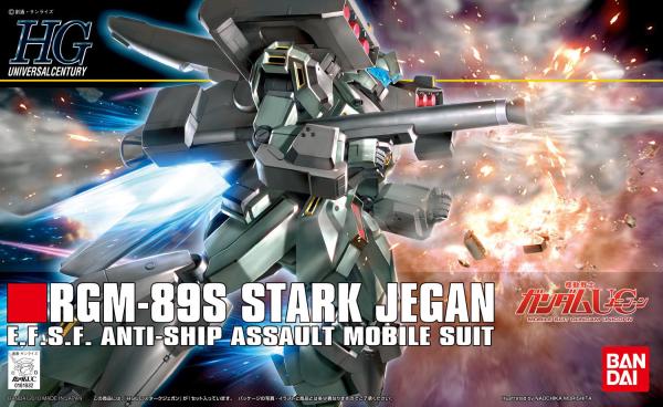#104 RGM-89S Stark Jegan, Bandai HGUC