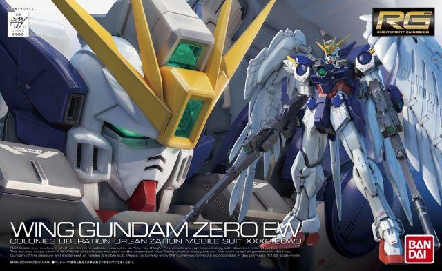 "#17 Wing Gundam Zero (EW), ""Gundam Wing: Endless Waltz"", Bandai RG"
