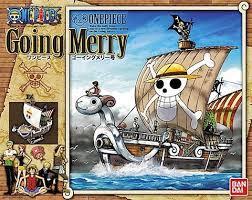 Going Merry Model Ship One Piece Bandai