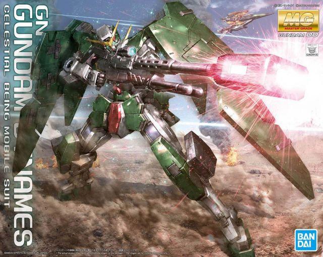 "Gundam Dynames  ""Gundam 00"", Bandai MG"
