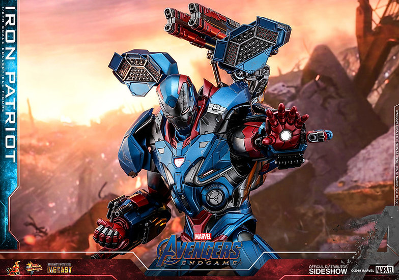 Iron Patriot DIECAST - Avengers: Endgame by Hot Toys