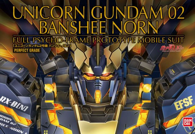 "Unicorn Gundam 02 Banshee Norn ""Gundam UC"", Bandai PG"