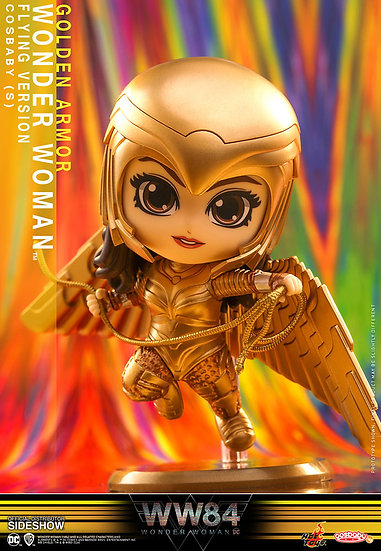 Golden Armor Wonder Woman (Flying Version) Hot Toys Wonder Woman 1984 - Cosbaby