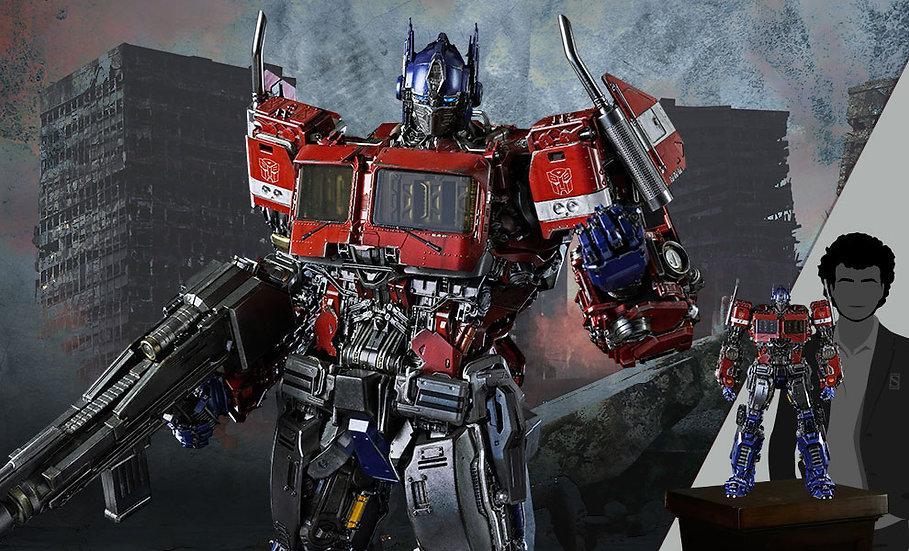Optimus Prime Premium Scale by ThreezeroDie-Cast Metal - Transformers: Bumblebee