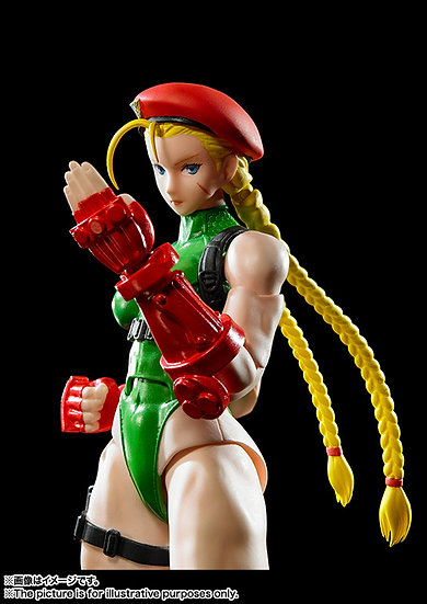 "Cammy ""Street Fighter V"" Bandai SH Figuarts"