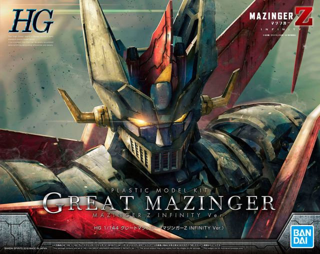 Great Mazinger Z Infinity Ver Bandai HG 1/144