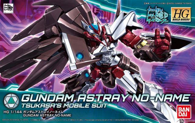 "#12 Gundam Astray No-Name ""Gundam Build Divers"", Bandai HGBD 1/144"