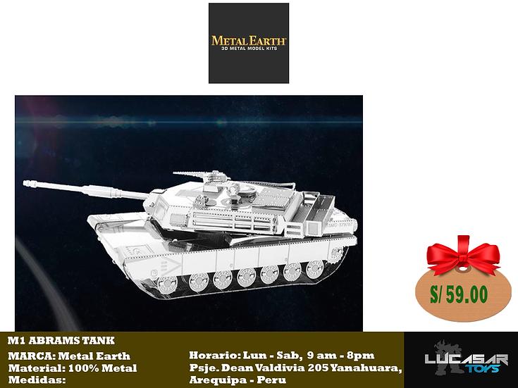 M1 Abrams Tank by Metal Earth