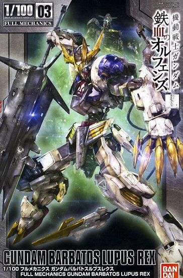 "#03 Gundam Barbatos Lupus Rex ""Gundam IBO"", Bandai IBO Full Mechanics 1/100"
