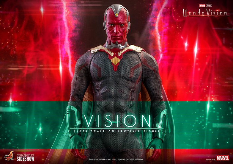 Vision Television Masterpiece Series - WandaVision by Hot Toys Pre Orden