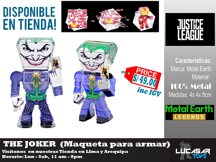 The Joker Metal Earth Legends