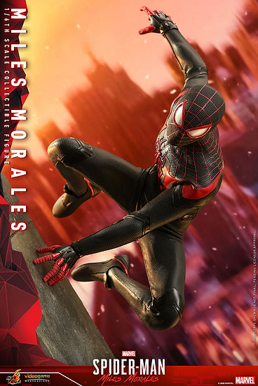 Miles Morales Sixth Scale Figure by Hot Toys