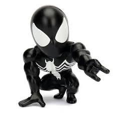 Marvel Spiderman Black Suit  13cm Jada Toys, 100% metal