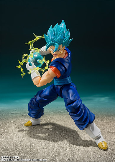 SSGODSS VEGETTO DRAGON BALL SUPER SH FIGUARTS