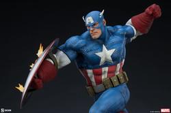 Captain America Premium Format Figure Sideshow Collectibles - Pre Orden