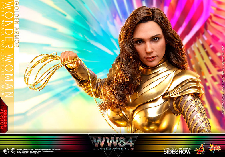 Golden Armor Wonder Woman (Deluxe) by Hot Toys Wonder Woman 1984