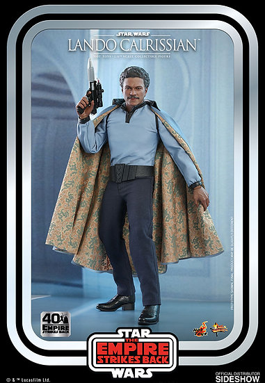 Lando Calrissian The Empire Strikes Back 40th Hot Toys