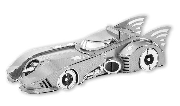 Batman 1989 Batmobile by Metal Earth