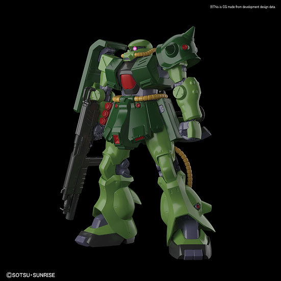 "#13 Zaku II FZ ""Gundam 0080"", Bandai RE/100"