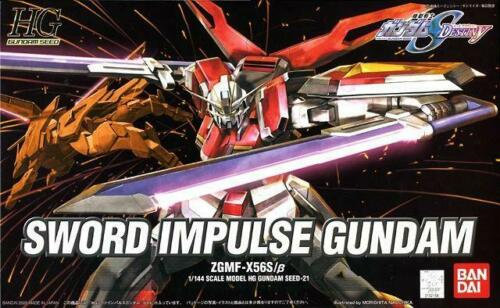 """#21 Sword Impulse Gundam """"Gundam SEED Destiny"""", Bandai HG SEED"""
