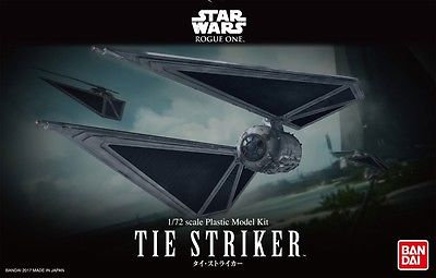 "Tie Striker ""Rogue One: A Star Wars Story"", Bandai"