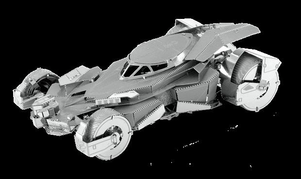 Batman Vs Superman Batmobile by Metal Earth