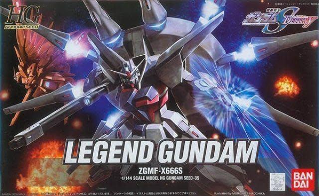 "#35 Legend Gundam ""Gundam SEED Destiny"", Bandai HG SEED Pre Orden"