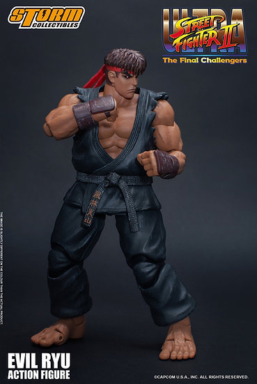 """Evil Ryu """"Ultra Street Fighter II The Final Challengers Storm Collectibles 1/12"""