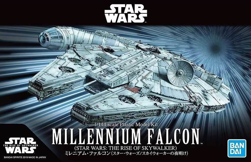 "Millennium Falcon (Rise of Skywalker Ver) ""Star Wars"", Bandai Spirits 1/144"