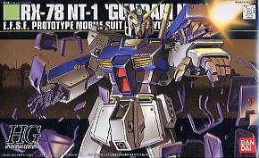 "#47 RX-78NT-1 Gundam Alex ""Gundam 0080"", Bandai HGUC"