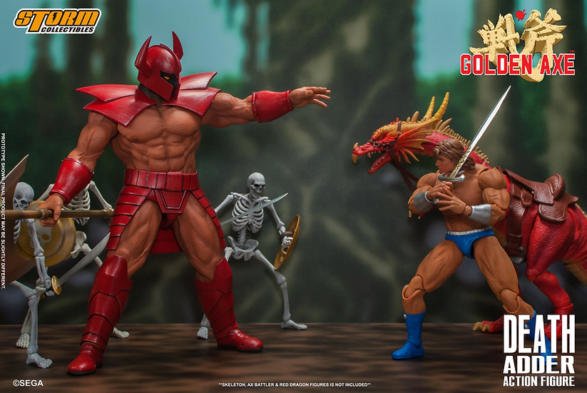"Death Adder ""Golden Axe"", Storm Collectibles 1/10"