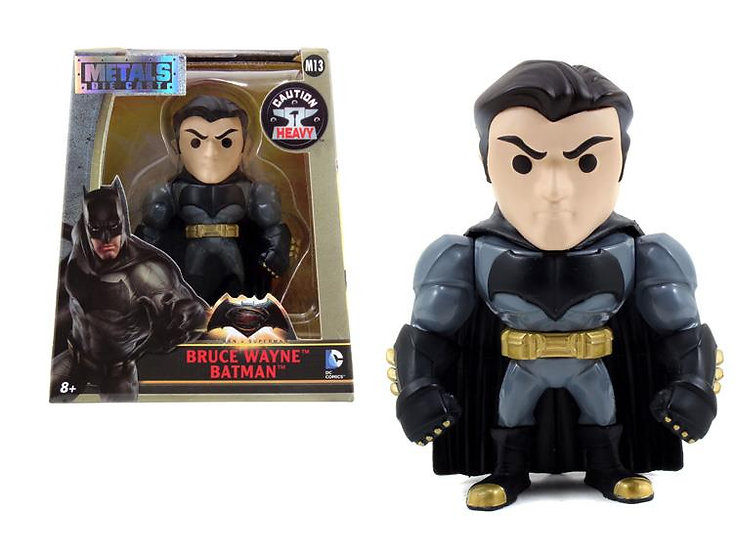 Batman De Metal Bruce Wayne 12 Cm Jada Toys