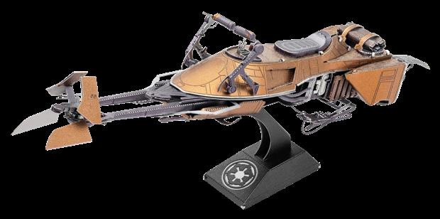 Star Wars Classic Speeder Bike by Metal Earth