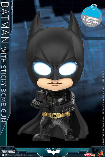 Batman with Sticky Bomb Gun Cosbaby(s) - The Dark Knight (Hot Toys)