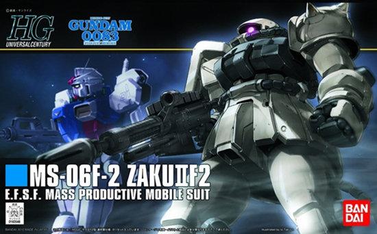 "#107 MS-06F-2 Zaku II F2 (EFSF Ver.) ""Gundam 0083"", Bandai HGUC"