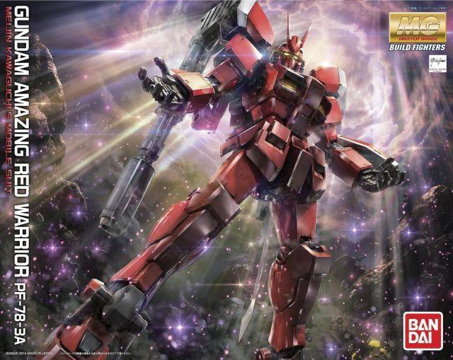 """Gundam Amazing Red Warrior """"Gundam Build Fighters Try"""", Bandai MG"""