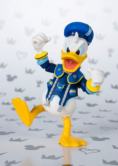 Donald Kingdom Hearts Bandai SH Figuarts