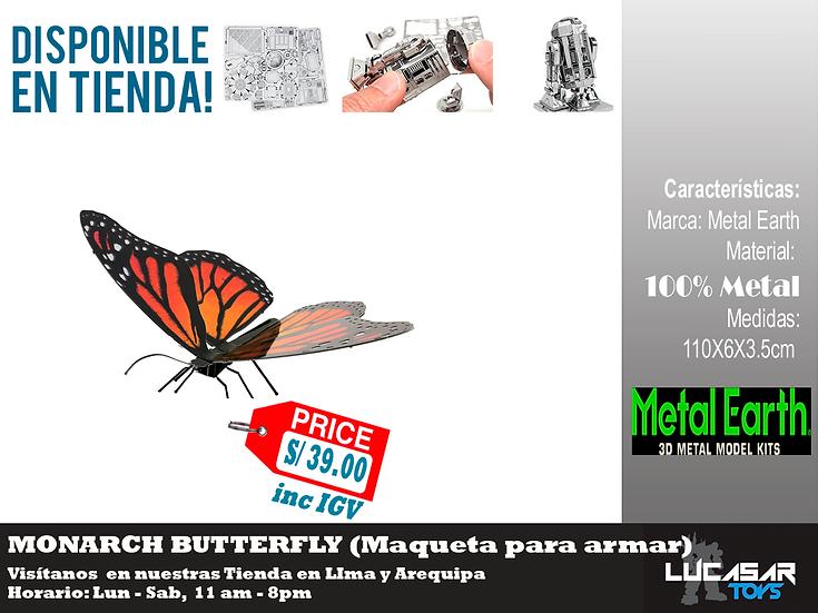 Monarch Butterfly Metal Earth