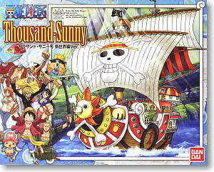 One Piece Thousand-sunny New World Ver Bandai