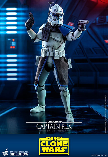 Captain Rex The Clone Wars by Hot Toys